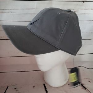 Gray Navy Nautica new with tags ball cap hat